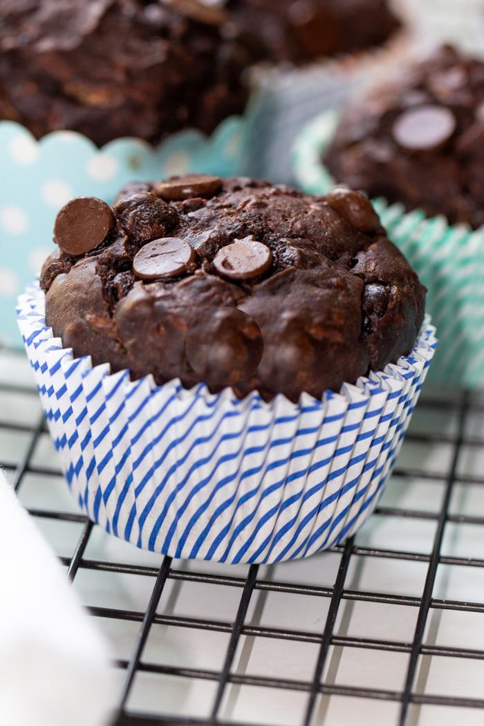 Dark Chocolate Zucchini Muffins (3 of 5)