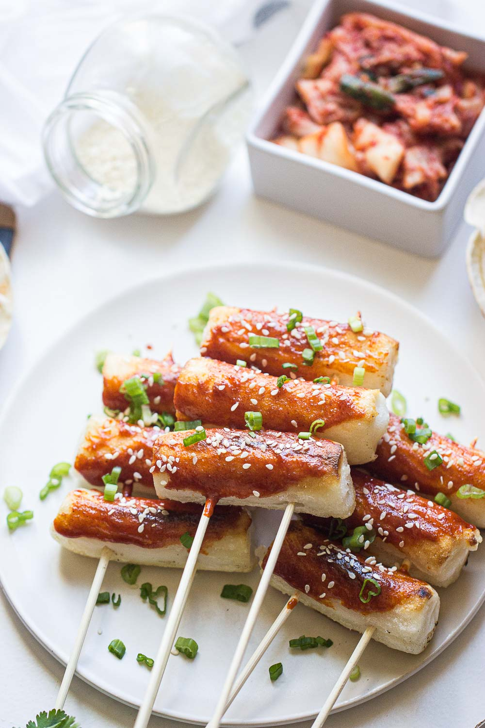 These Grilled Tteokbokki Is A Popular Korean Street Food