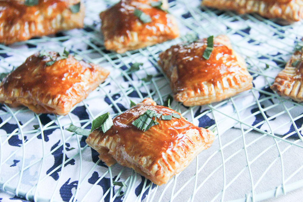 Italian Hand pies. Scrumptious Filling. Completely irresistible. Totally addictive. These dainty hand pies are full of flavor and gooey cheese and one of the most delightful pies you can make any time.