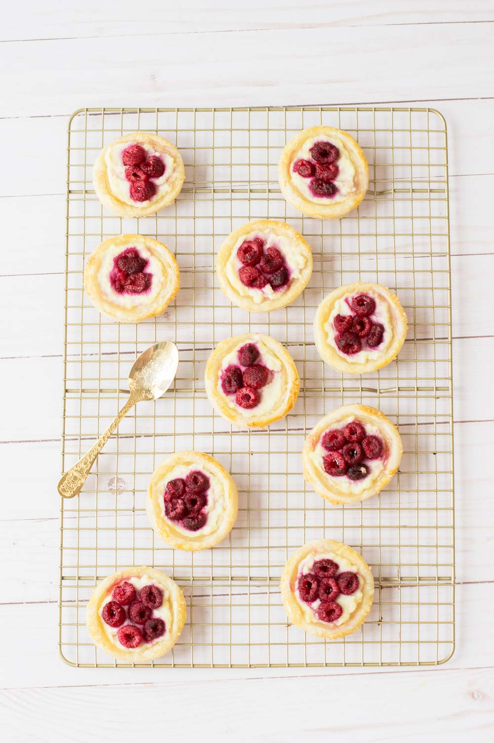 Puff Pastry Danish. or Raspberry Danish Pastry. This easy tart is sure to impress the guests on any occasions — crispy, buttery, flaky puff pastry tart makes an easy summer dessert.