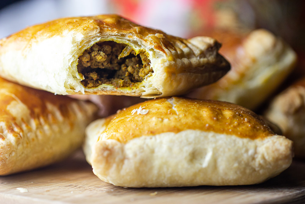 Each of these delicious baked Beef Curry Puff is filled with delicious ground beef and wrapped in golden flaky pastry.