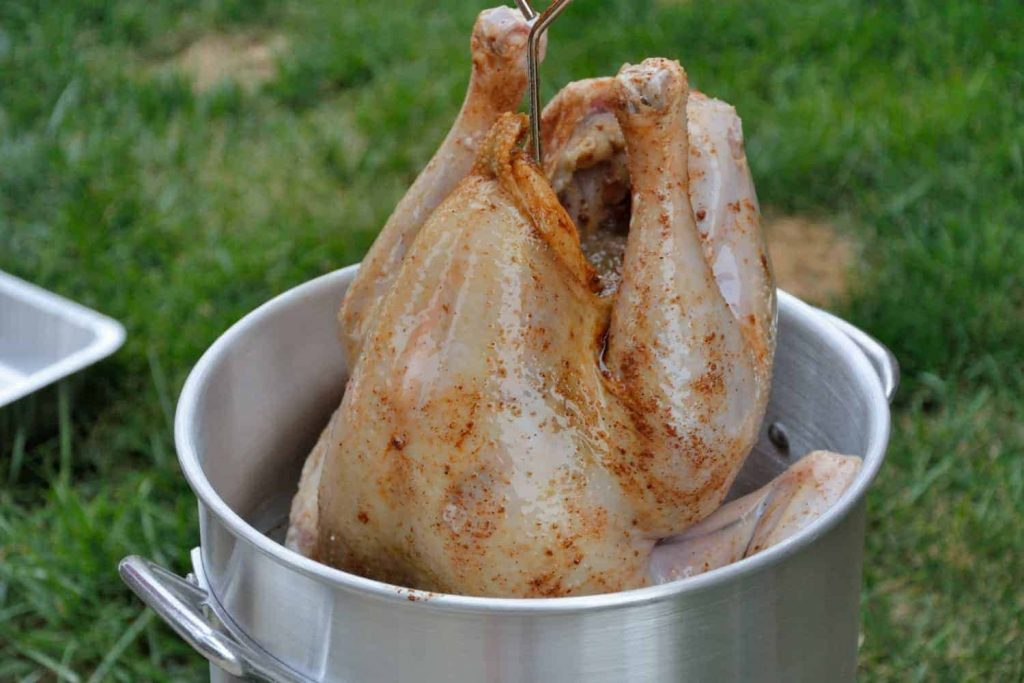 Simple brine for turkey can be as easy as dissolving salt in water or as complicated as a two-day process of an herb infused brine and then allowing for an air dry for the perfect, crispy turkey skin and everywhere between.