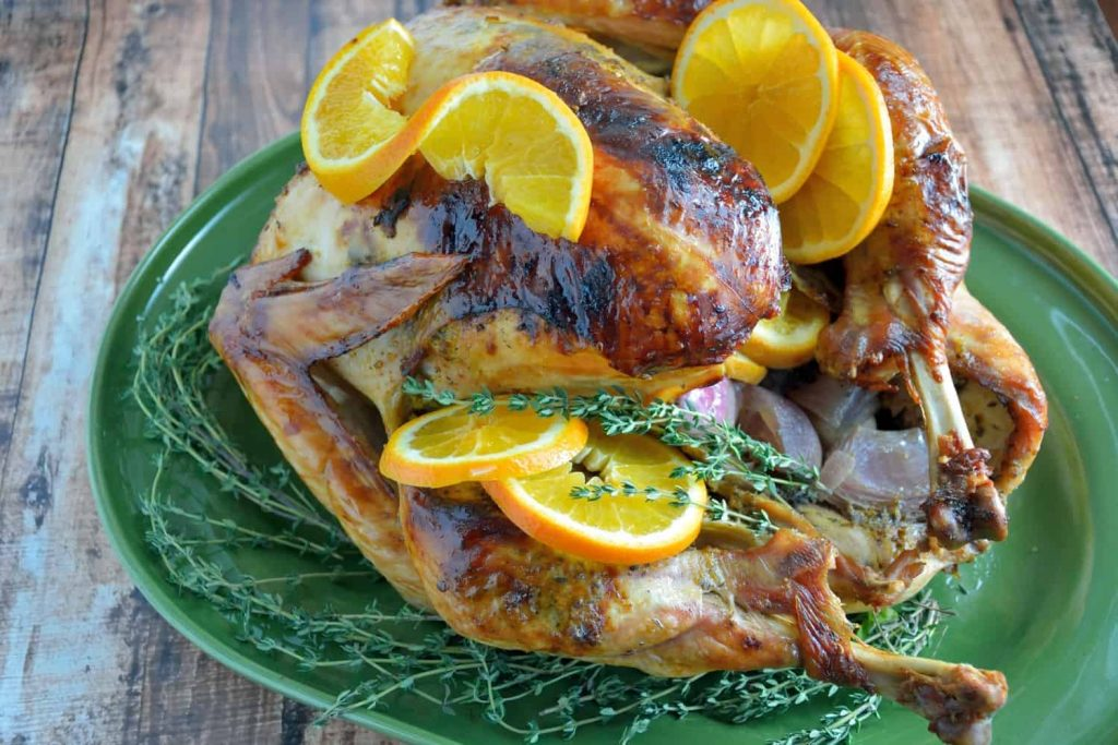 If you are looking for a way to jazz up your dinner table, look no further than my Orange Thyme Turkey Recipe.