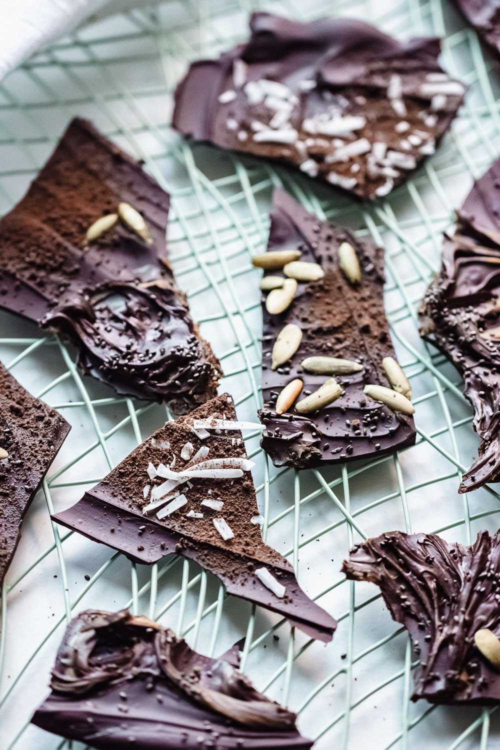 Dark chocolate bark thins is one of the easiest and quickest treat to make with chocolate. The possibilities are practically endless! Make them for yourself (definitely do this), or make them as gifts for family & friends.